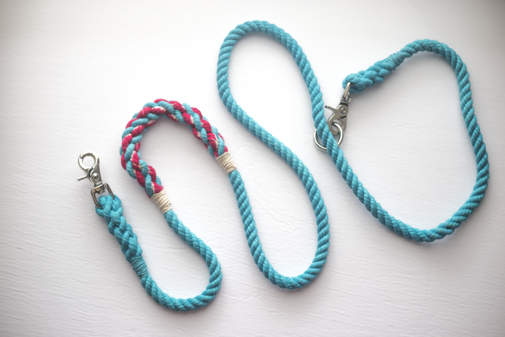rope dog leashes handsfree