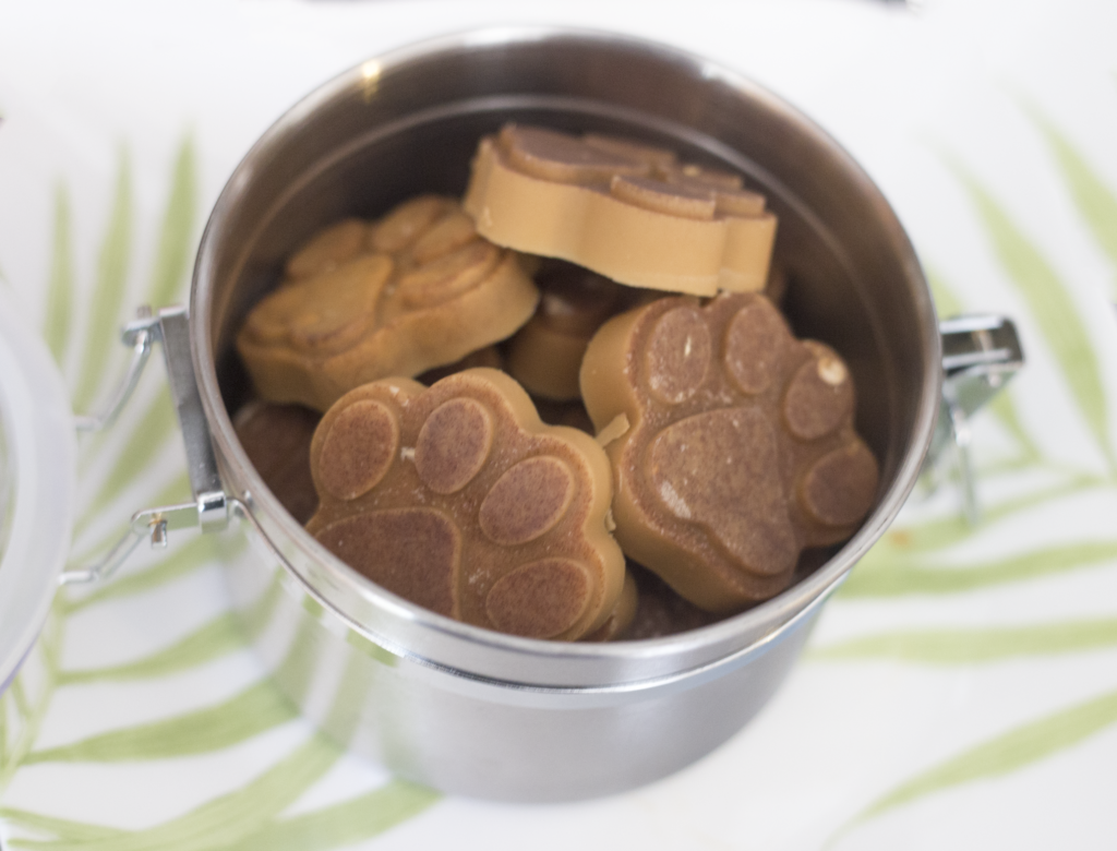 peanut butter dog treats DIY