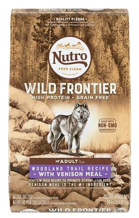 Nutro Dog Food, Wild Frontier, Nutro, Venison