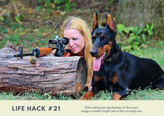life hack, dog hack, dog hunting, hunting life