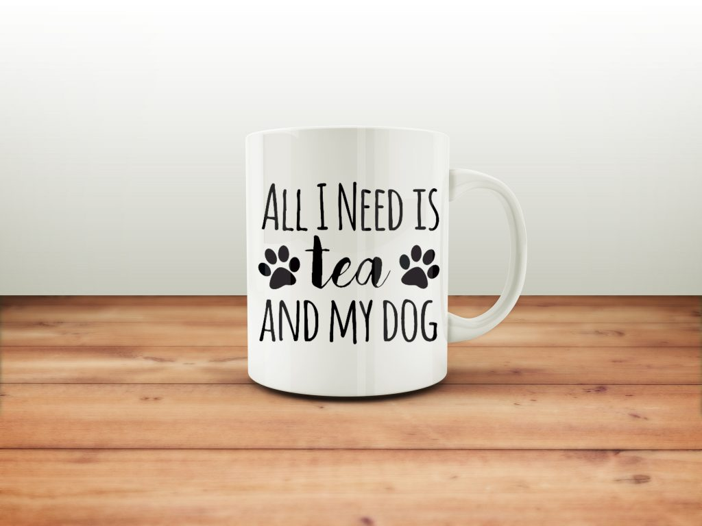 dog mugs, tea mug
