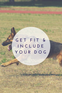 get fit and include your dog