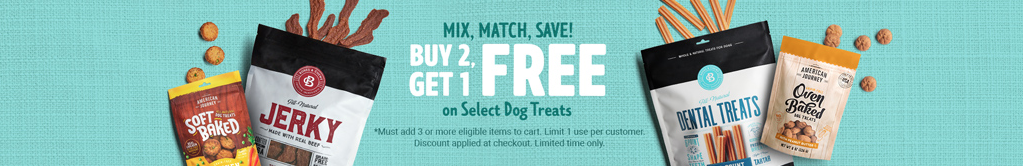 Mix and Match Treat Sale at Chewy. Sales at Chewy Buy 2 Get 1 Free Treats at Chewy
