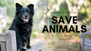 Save Animals by shopping with Kai's Ruff Wear for all your Dog Products from shirts to leashes to mugs and more!