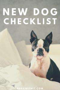 New Dog Checklist MaggieLovesOrbit Photo