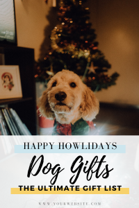 Dog Gifts - The Ultimate Dog Gift Guide for the Holidays