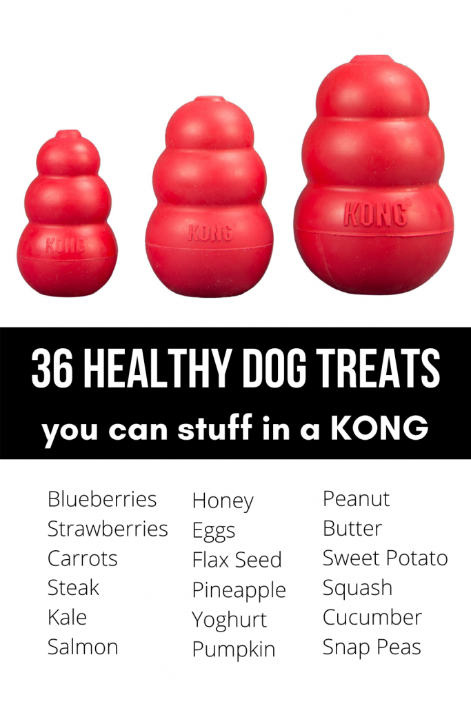 Healthy KONG Treats