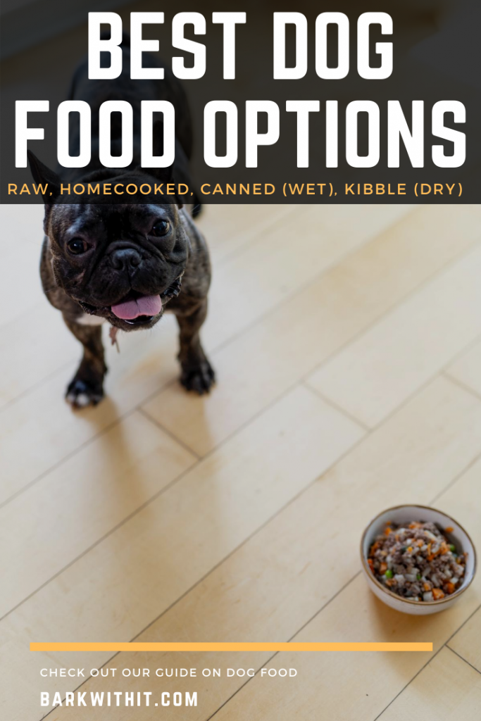 Best Dog Food - Raw, Kibble, Homecooked, or Canned