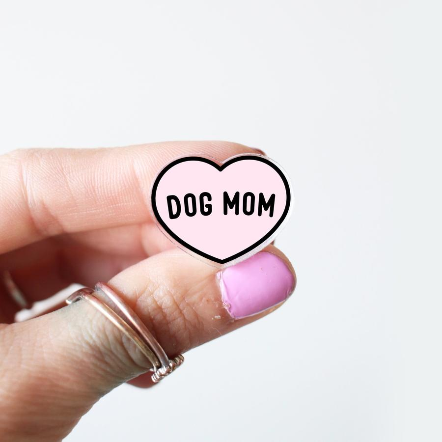 Dog Mom Gift Guide Dog Mom Acrylic PIn Ripley and Rue