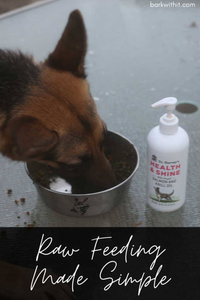 Dr. Harvey's Raw Vibrance Feeding Raw to Dogs Easy Raw Feeding