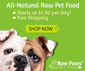 Raw Paws Pet Food and Treats