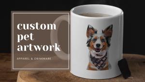 custom pet artwork